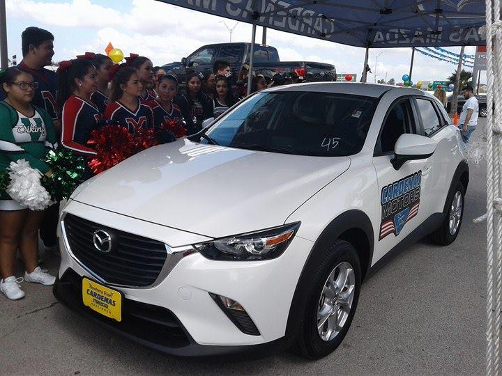 Gana auto del a o estudiante del bisd el valle noticias for Cardenas motors in brownsville texas